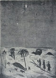 """""""Three Kings (21/50)"""" by Charles Shearer (etching)"""