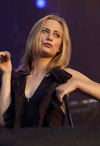 Geike Arnaert, Belgian singer, best known for being the lead vocalist of the band Hooverphonic from 1997 until October 2008.
