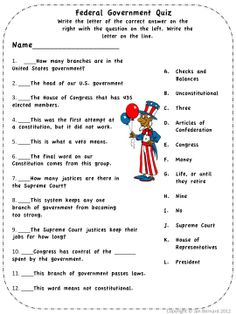 "Make learning about the local, state and federal government more fun with a sprinkle of fairy dust! This unit kicks off with a read-aloud story written at the 3.2 reading level called ""Jenny and the Government Fairy"". Start out with four activity sheets that go with the story, and match language arts Common Core Standards for 3rd grade. Then move on to teaching handouts, and activities that teach students about federal, state and local government! $"