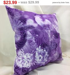 • FILLED AND READY TO USE Our Premium Designer #pillows are already filled for your convenience. Makes a great gift! MACHINE WASHABLE All our pillows are machine washable an... #etsy #handmade #dogs #mothersday #fathersday #gifts #doglovers #noveltypillows #mancave #purple #decorative #square #bedding
