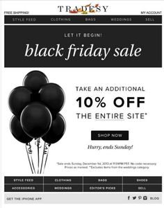 Your quick and easy to follow Black Friday email campaign post for 2015. Turns…