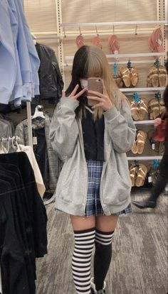 Swaggy Outfits, Edgy Outfits, Grunge Outfits, Cute Casual Outfits, Egirl Fashion, Cute Fashion, Fashion Outfits, Aesthetic Grunge Outfit, Aesthetic Clothes