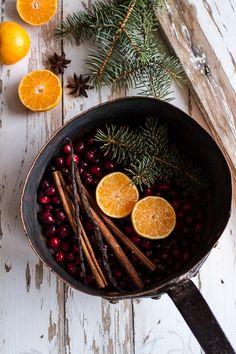 Homemade Holidays- Let's Make the House Smell Like Christmas | halfbakedharvest.com @hbharvest. home scent