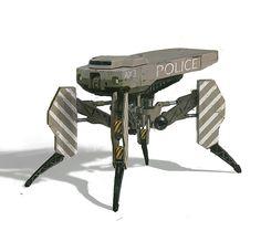 4 legs Drone