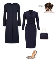 """Work"" by cgraham1 on Polyvore featuring Darton, Mansur Gavriel and Christian Louboutin"