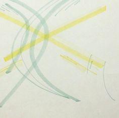 나의 안무(김건모-핑계) _마카 [추상적/즉흥적/아날로그/선적구성+면적구성/설명적/회화적]