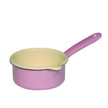 Riess Stielkasserolle 12 cm rosa pink http://bleywaren.de/products/riess-stielkasserolle-kasserolle-email