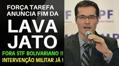URGENTE ! A LAVA JATO PODE ACABAR AMANHÃ ! REAJA BRASIL ! #INTERVENÇÃOMI...