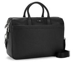 Hugo Boss Traveller_D doc laptop bag. Debuted Jan 2017