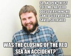 Happy Bearded Calvinist