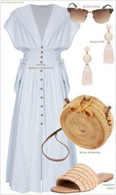 Looks brancos inspiradores para primavera e verão - #Blusasdemoda #Modacasual #Modaestilo #Modaparadamas #Outfitscasuales #Ropademoda