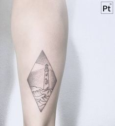 Lighthouse tattoo eternal tattoo taksim pinterest for Minimalist tattoo artist austin