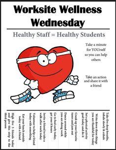 Worksite Wellness Wednesday Health Fitness Quotes, Health And Fitness Articles, Wellness Quotes, Health And Wellness, Mental Health Activities, Wellness Activities, Health Education, Teen Activities, Wellness Wheel