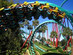Things to Do in Madeira Beach, Florida Florida Girl, Tampa Florida, Florida Travel, Florida Beaches, Florida Trips, Best Amusement Parks, Amusement Park Rides, Madeira Beach Florida, Best Roller Coasters