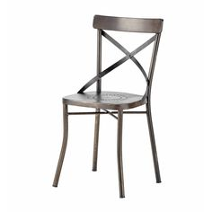 Maisons du Monde | 'Tradition' Metal Garden Chair -- Chaise de jardin en métal ... - Tradition
