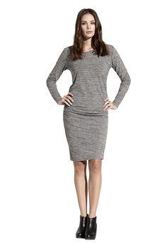 Floz dress. Køb den på http://www.blackswanfashion.dk/ Floz dress. Buy it on http://www.blackswanfashion.com/ #greyclothing #greydress #fitteddress #comfydress #perfectdress #stretchjerseydress #slimdress #minimaldress #classicaldress #simpledress #chicdress #gorgeousdress #stylishdress #femininedress #comfydress #shadesofgrey