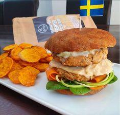 Sütőtökös hamburger zsemle 5db Hamburger, Hot Dog, Chicken, Ethnic Recipes, Food, Essen, Burgers, Meals, Yemek