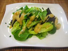 Otaku Family: Salat mit süßem Miso Dressing