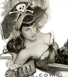 The Scourge of the Seas, Bettie Page