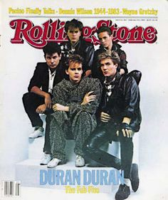 Duran Duran: The Fab Five To the delight of girls everywhere — myself included! — Duran Duran graced the cover of Rolling Stone magazine on the issue dated February Another of … John Taylor, Roger Taylor, Nick Rhodes, Simon Le Bon, Rolling Stone Magazine Cover, Birmingham, 80s Musik, It Icons, Nostalgia