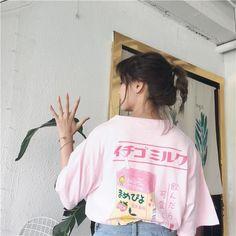 Japanese kawaii milk t-shirt SD01129