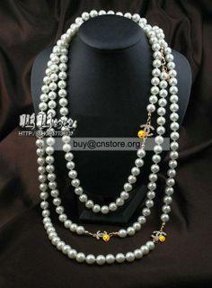 Resultado de imagen de collares chanel perlas