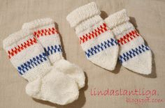 Lindas Lantliga: Mönster, babyvantar och sockor. Knitting For Charity, Knitting For Kids, Baby Knitting Patterns, Knitting Ideas, Baby Barn, Purl Bee, Knitted Baby Clothes, Knitted Animals, Vintage Wardrobe