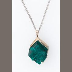 Dioptase pendant i must have crystal love pinterest a dioptase pendant set in platinum plated 14k gold tsumeb namibia dioptase aloadofball Gallery