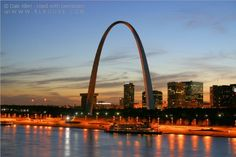 St. Louis Arch in St. Louis, Missouri