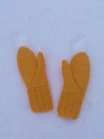 Luovat kädet: Lumo -lapaset Marimekko, Gloves, Mittens