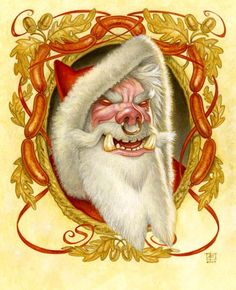 This is like a week late but; Happy Hogswatch everyone!