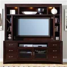 New Generation Contemporary Entertainment Center with Mountable  by Liberty Furniture at Darvin Furniture