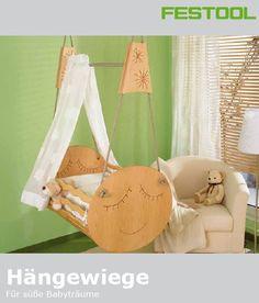 Baby Hängewiege - gratis Pdf Vorlage, Baupläne und Schritt für Schritt Anleitung