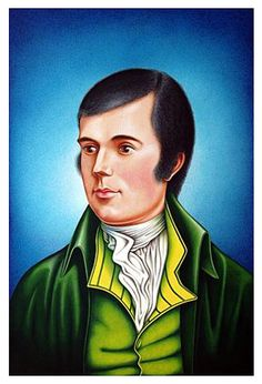 Free Painting Portrait Lesson Acrylics - very detailed PORTRAIT OF ROBERT BURNS