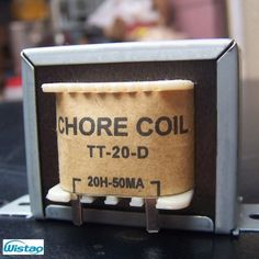 Tube Amp Choke Coil 20H 50mA Japanes Z11 Annealed Silicon Steel Sheets Amplifier Filter Audio HIFI DIY  US $ 18.90 / piece