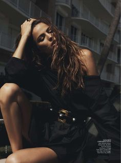 Vogue Australia Feb 2013 - Cameron Russell by Benny Horne