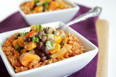 Healthier versions of traditional Latin dishes made with less fat. These recipes are amazing!