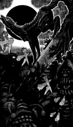 A place for things horror, art and folklore in Japan! Dark Creatures, Creatures Of The Night, Weird Creatures, Berserker Tattoo, Manga Art, Manga Anime, Shocked Cat, Animated Wallpapers For Mobile, Snake Wallpaper