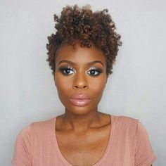 Popular Ideas for Short Curly Hair Short Curly Hair Hairstyles, Twa Hairstyles, Short Hairstyles For Women, Curly Hair Styles, Blonde Hairstyles, Dreadlock Hairstyles, Dress Hairstyles, Updo Hairstyle, Haircuts