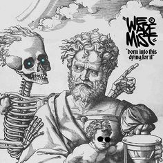 WEBSTA @ wearemist_wam - We are the time we have left.Design for WEAREMIST! «Somos el tiempo que nos queda». #WAM #wearemist #somosniebla #bornintothis #dyingforit #wamdesign #wamclothing #wam_brand #pickofday #photoofday #desingofday #allrightreserved #instagood #selkscreen #art #instaart #artwork #abstract #death #artoftheday #typography  #medieval #graphicdesign #art #desingofday