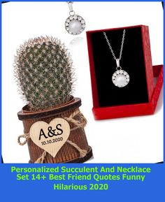 Personalized Succulent And Necklace Set1 Piece Personalized Succulent and Necklace Set#birthday #personalized #custom best friend quotes funny hilarious Personalized Succulent And Necklace Set 14+ Best Friend Quotes Funny Hilarious 2020 Teenage Girl Gifts Christmas, Christmas Gifts For Coworkers, Christmas Crafts To Make, Christmas Crafts For Kids To Make, Thanksgiving Crafts, Thanksgiving Desserts, Thanksgiving Activities, Thanksgiving Outfit, Thanksgiving Decorations