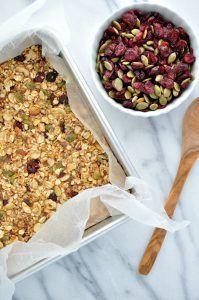 The Seasoned Mom Fall Harvest Granola Bars + Final Nutrimom Update - The Seasoned Mom