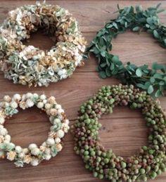 ドライフラワー リース dryflower wreath FLEURI blog
