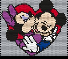 Kandi Patterns for Kandi Cuffs - Characters Pony Bead Patterns Pony Bead Patterns, Kandi Patterns, Peyote Stitch Patterns, Pearler Bead Patterns, Beading Patterns Free, Perler Patterns, Beaded Banners, Quilled Creations, Peyote Beading