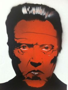 Mr. Walken Stencil