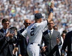 Jeter Farewell w/Mo, Tino and Jorge. 9.7.14