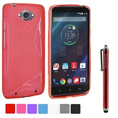 LK Motorola Droid Turbo Case - S Shape Slim TPU Gel Rubber Soft Skin Case Cover for Motorola Droid Turbo Verizon (ONLY Compatible with Droid Turbo RED MGF and BLACK MGF Edition, NOT Compatible with Droid Turbo Black Ballistic Nylon Edition) + Stylus Pen (Red) LK http://www.amazon.com/dp/B00P80CRXK/ref=cm_sw_r_pi_dp_C3T4ub1E11CEH