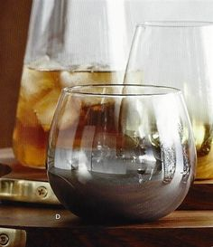 Roost Platinum Fade Cocktail Glass Set of 4