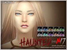 The Sims Resource: Haunted Eyes by tsminh_3 • Sims 4 Downloads