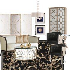 Gorgeous with Neutrals & Black by Find-Design, Find-Design